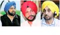 Capt. Amarinder Singh, Ravneet Bittu, Bhagwant Mann