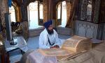 Guru Granth Sahib inside Darbar Sahib