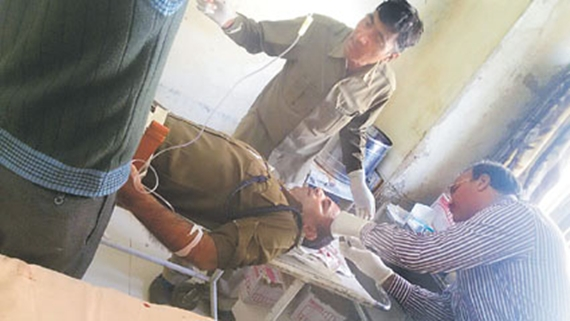 injured SSP Jaat reservation