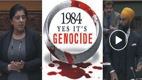 yes its genocide ontario canada