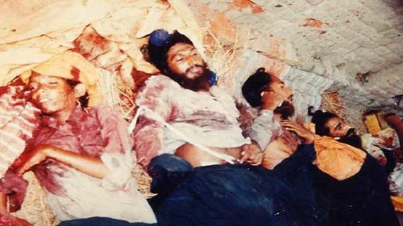 80-90 ਦੇ ਦਹਾਕੇ 'ਚ ਪੰਜਾਬ 'ਚ ਵੱਡੀ ਪੱਧਰ 'ਤੇ ਹੋਏ ਝੂਠੇ ਪੁਲਿਸ ਮੁਕਾਬਲਿਆਂ ਨੂੰ ਦਰਸਾਉਂਦੀ ਤਸਵੀਰ