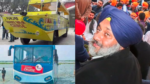 Sukhbir Badal, Harkie Water Bus New and Old