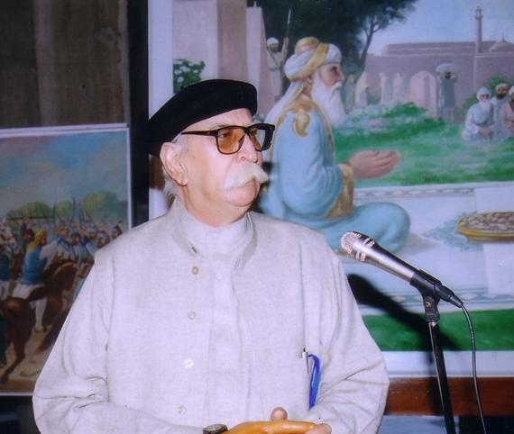 ਪਾਕਿਸਤਾਨੀ ਪੰਜਾਬੀ ਕਵੀ ਅਫ਼ਜ਼ਲ ਅਹਿਸਨ ਰੰਧਾਵਾ (ਫਾਈਲ ਫੋਟੋ)