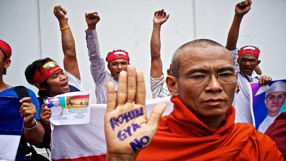 Rohingya Budhists Myanmar Burma