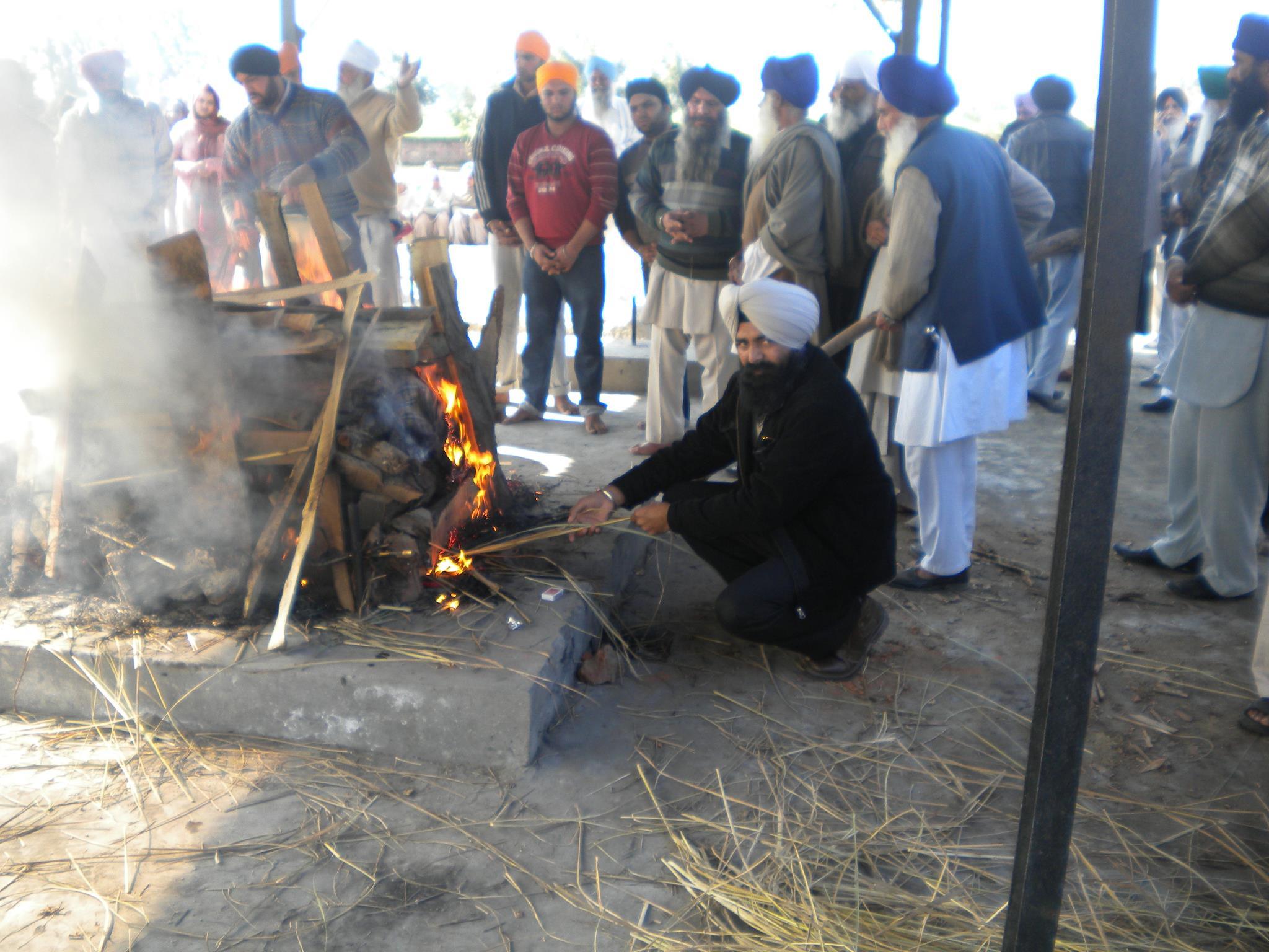 Antim Sanskar Bapu Kashmir Singh Panjwar