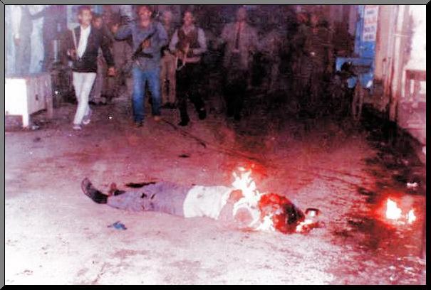 ਨਵੰਬਰ 1984 ਦੀ ਨਸਲਕੁਸ਼ੀ ਦੌਰਾਨ ਸਿੱਖਾਂ ਨੂੰ ਜਿਉਂਦਿਆਂ ਹੀ ਸਾੜ ਦਿੱਤਾ ਗਿਆ ਸੀ
